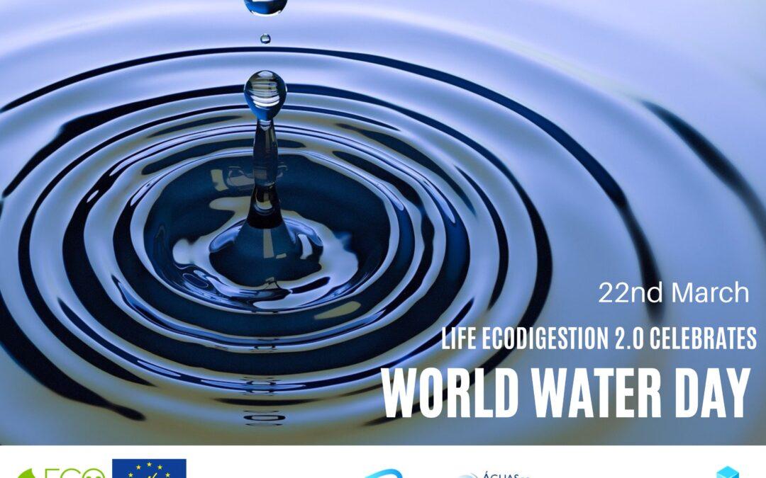 LIFE ECOdigestion 2.0 celebrates World Water Day