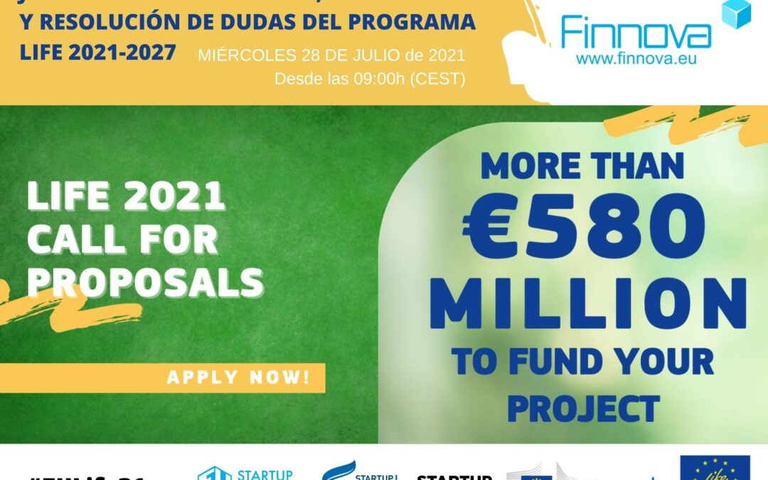 Finnova organises a Networking and Q&A Open Day on LIFE 2021 2027