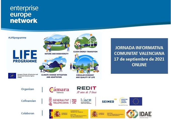 LIFE Ecodigestión 2.0 will participate as a success project in the Q&A of the LIFE programme call in the Valencian Community