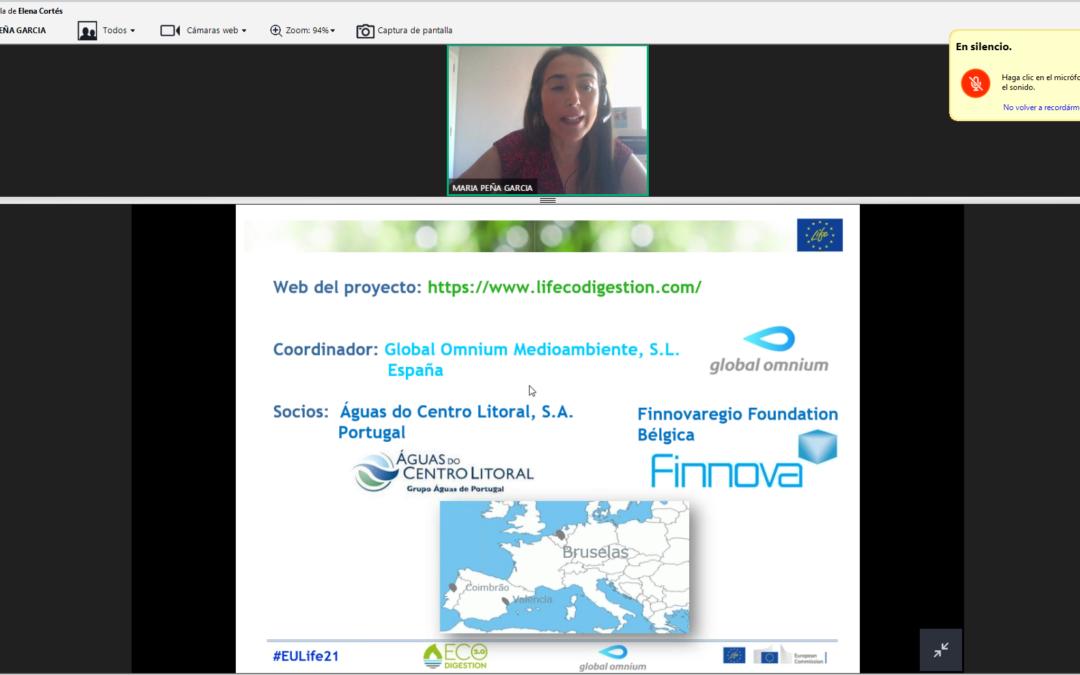 LIFE ECOdigestion 2.0 participa en la jornada sobre el programa LIFE organizada por la Comunidad Valenciana